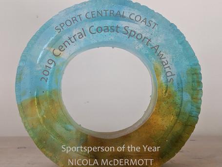 Central Coast Sports Award