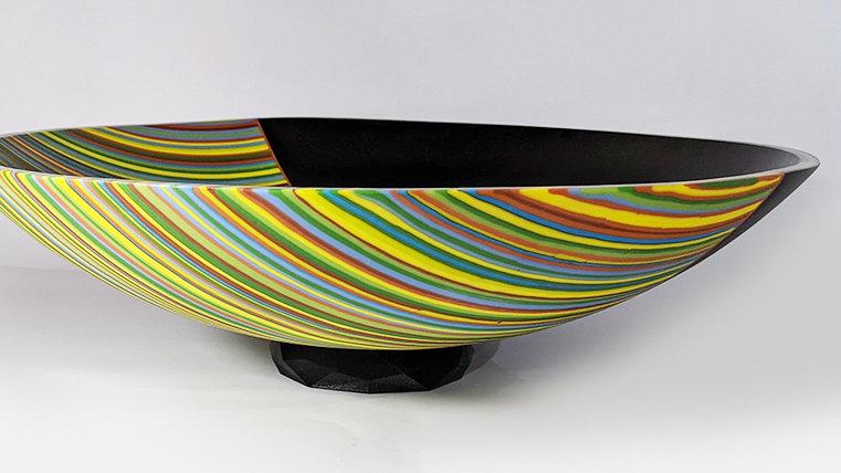 Green Strip Bowl XL