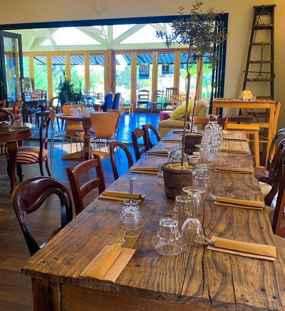 Indoor restaurant.