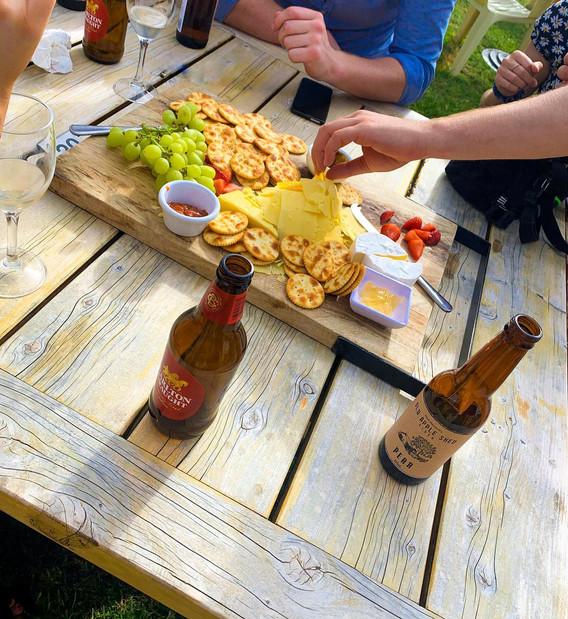 Sharing platter.