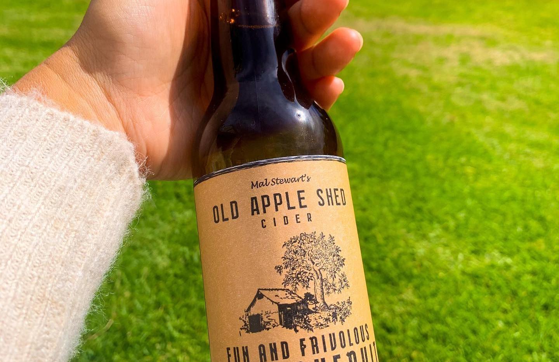 Passionfruit Cider.