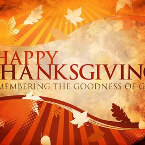MMA's Thanksgiving Newsletter