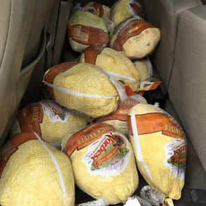 35 Thanksgiving Turkeys donated by MMA!