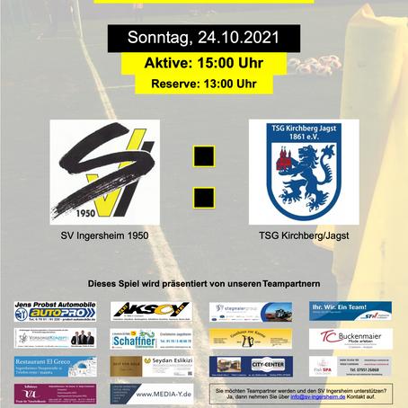 Heimspiel gegen TSG Kirchberg/Jagst