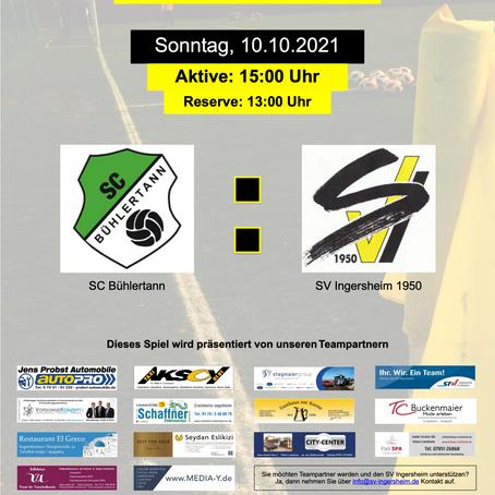Auswärtsspiele in Bühlertann
