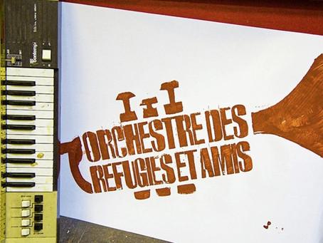 Orchestre des Réfugiés et Amis bring foreign flavours to Belfast lunchtime