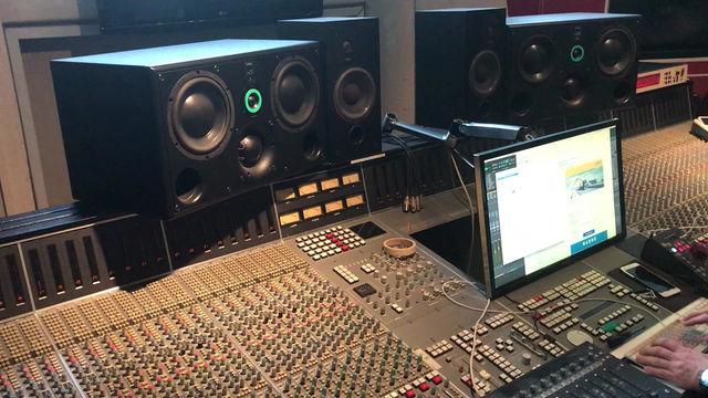 Mixing in Medley Studios Copenhagen