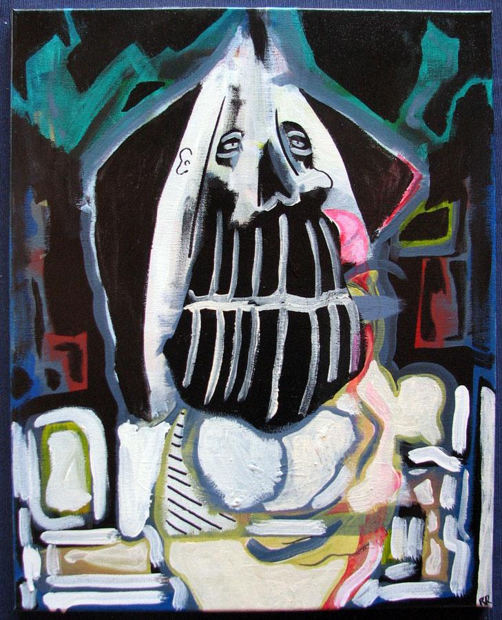 Untitled (Skull King #2)