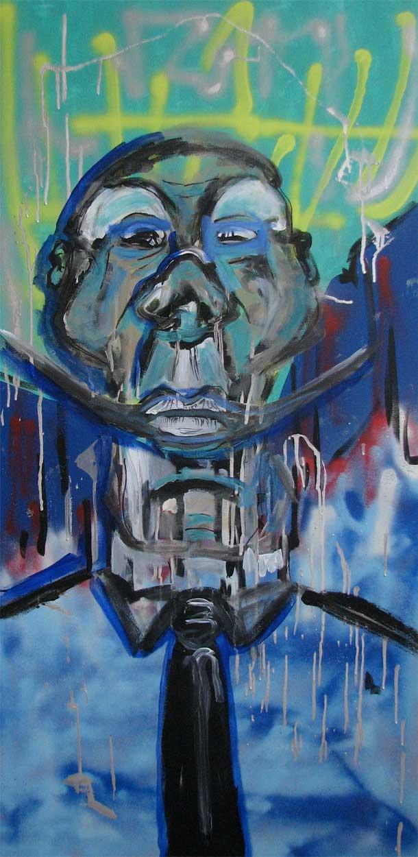 Blue Face #2