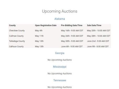 Alabama Bid-Down Auction Instructions