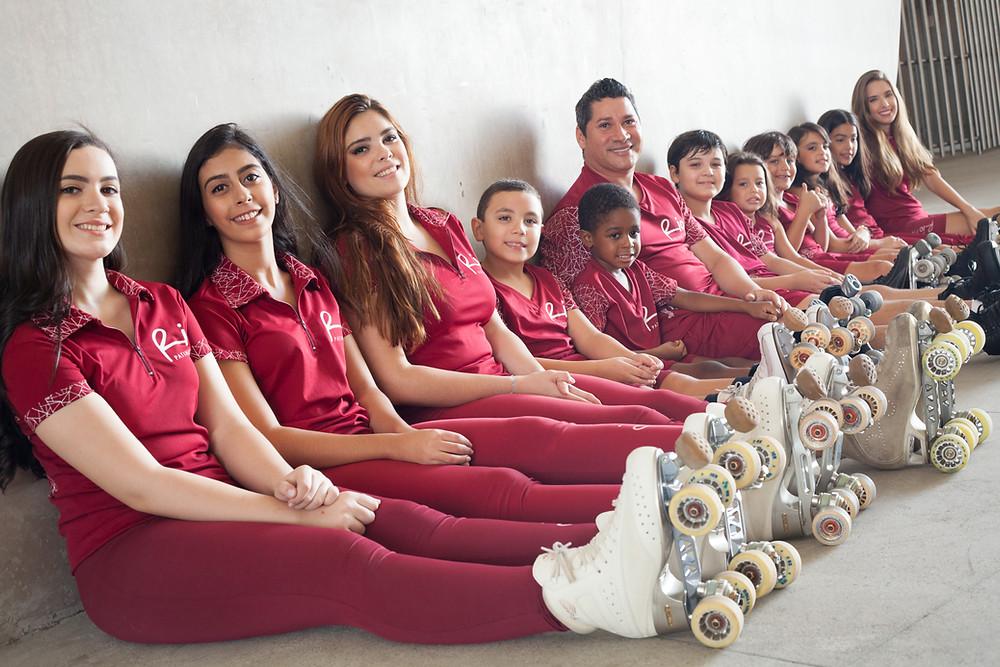 Atletas de Patinação Artística Rio Patinação