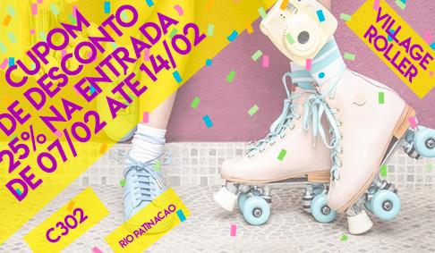Village Roller abre o Carnaval com Isabelita dos Patins!