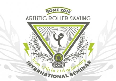 Rio Patinação irá participar do primeiro Seminário Internacional de Patinação Artística em Roma / It