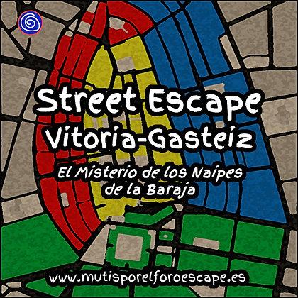 Street escape EL MISTERIO DE LOS NAIPES DE LA BARAJA