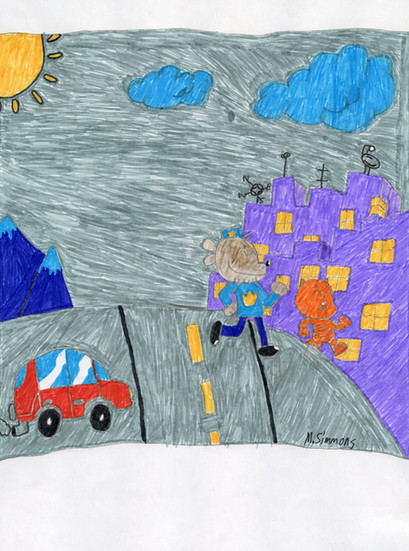 Michael Simmons, 4th Grade, Lincoln Elementary