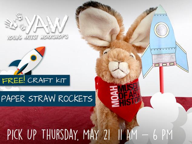 YAW Paper Straw Rockets