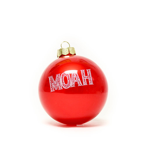 MOAH HOLIDAY ORNAMENT