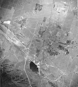 Aerial Map of Palmdale (West to East)