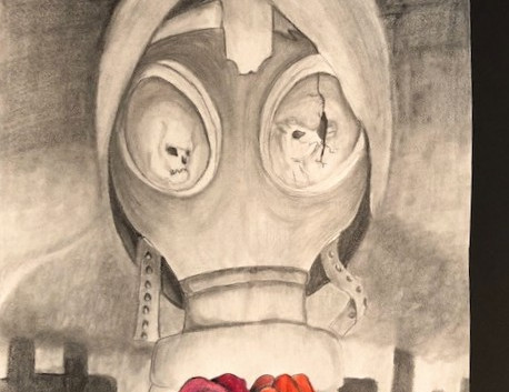 Gas Mask Rose