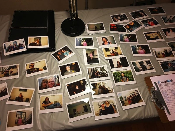 Some of the nights polaroids.jpg