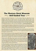 Western Hotel Museum Tour