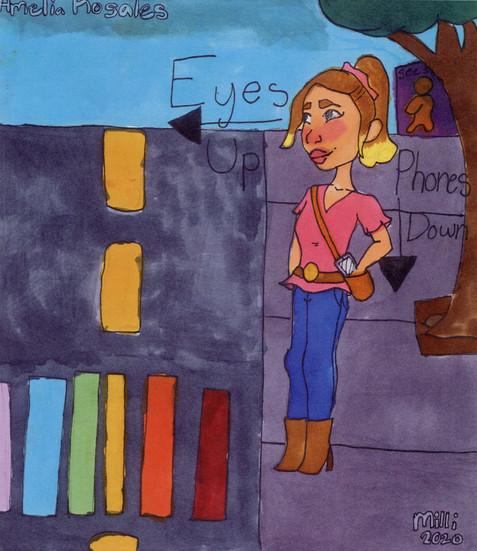 Amelia Rosales, 5th Grade, Nancy Cory Elementary