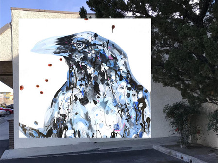 Local artist Tina Dille to feature Raven mural at Lancaster POW! WOW!