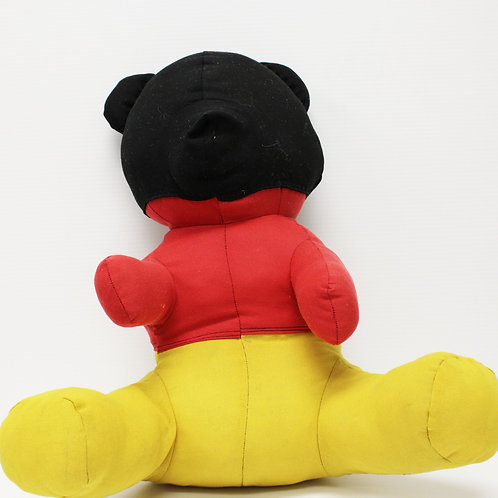 Victor Wilde's Teddy Bear - Mickey Print