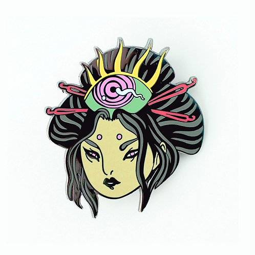 POW!WOW!AV LaurenYS 'Lolo' Pin