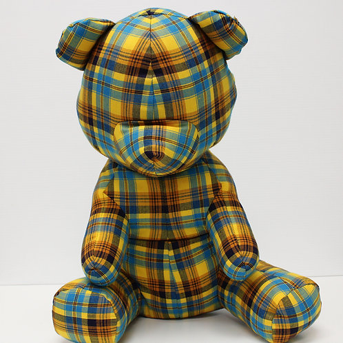 Victor Wilde's Teddy Bear - Plaid