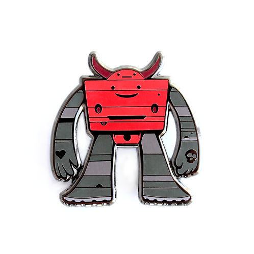 JEFF SOTO ROBOT PIN