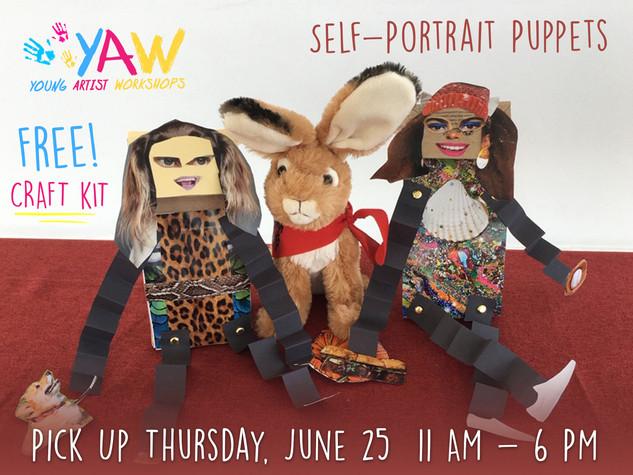 YAW Self Portrait Puppets