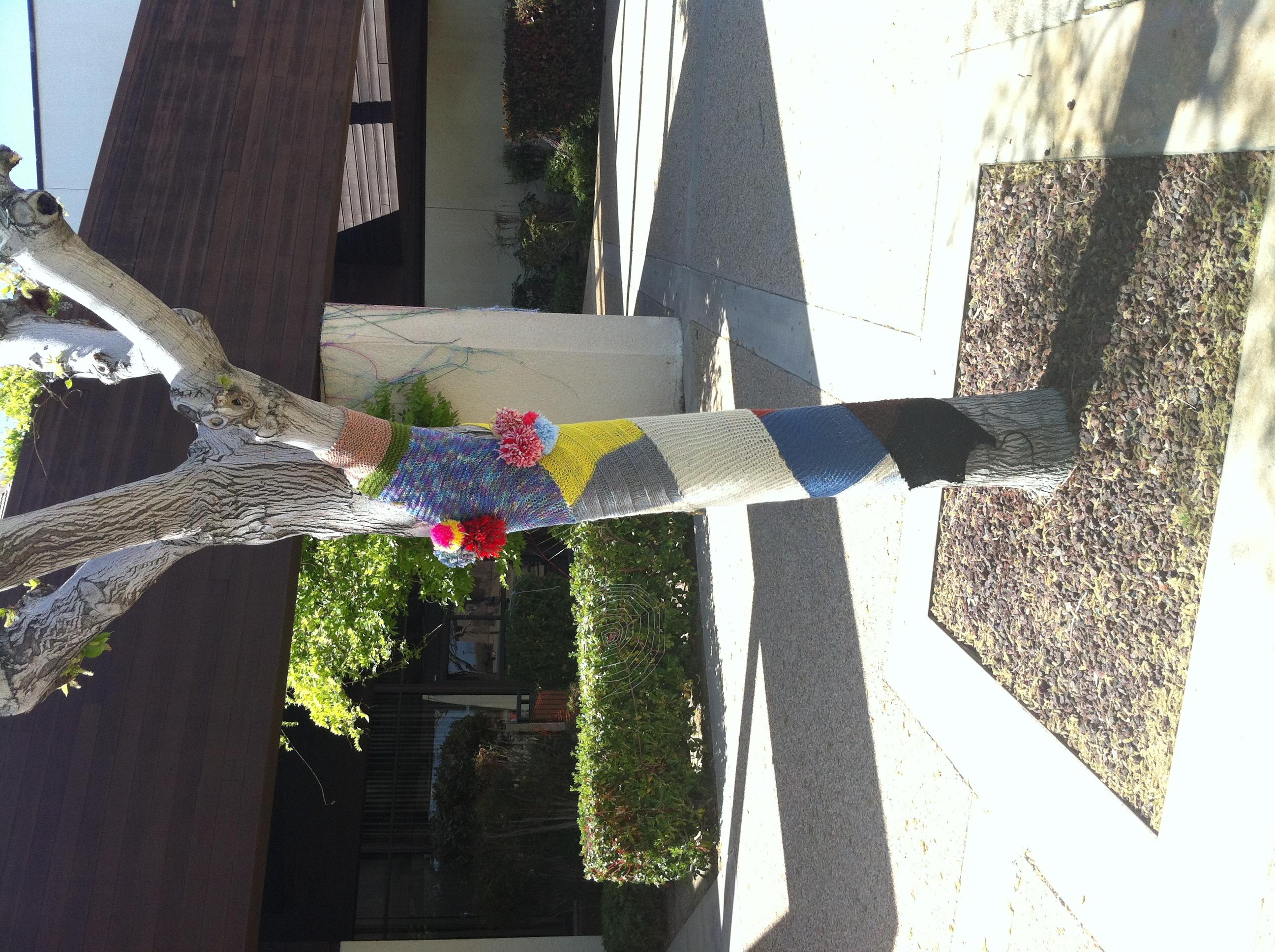MOAH Yarn Bomb Annual High School Art Lancaster City Hal 2012 (19)