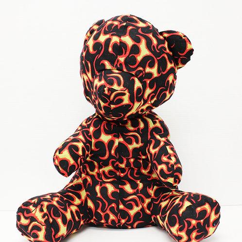 Victor Wilde's Teddy Bear - Fire