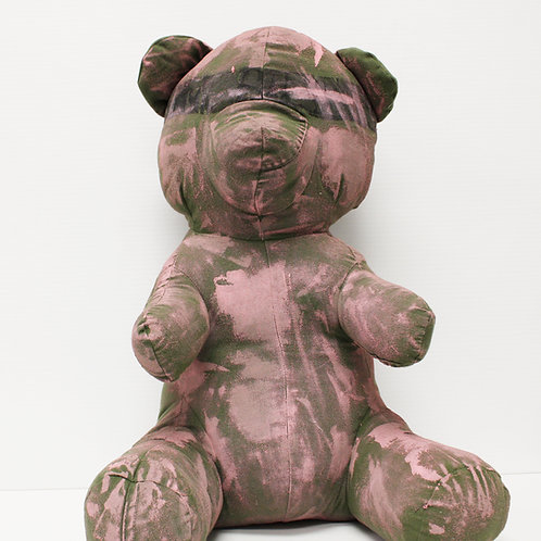 Victor Wilde's Teddy Bear - Pink Splatter
