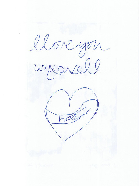 I love You (back)