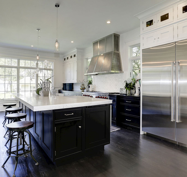 Transitional Annapolis Kitchen