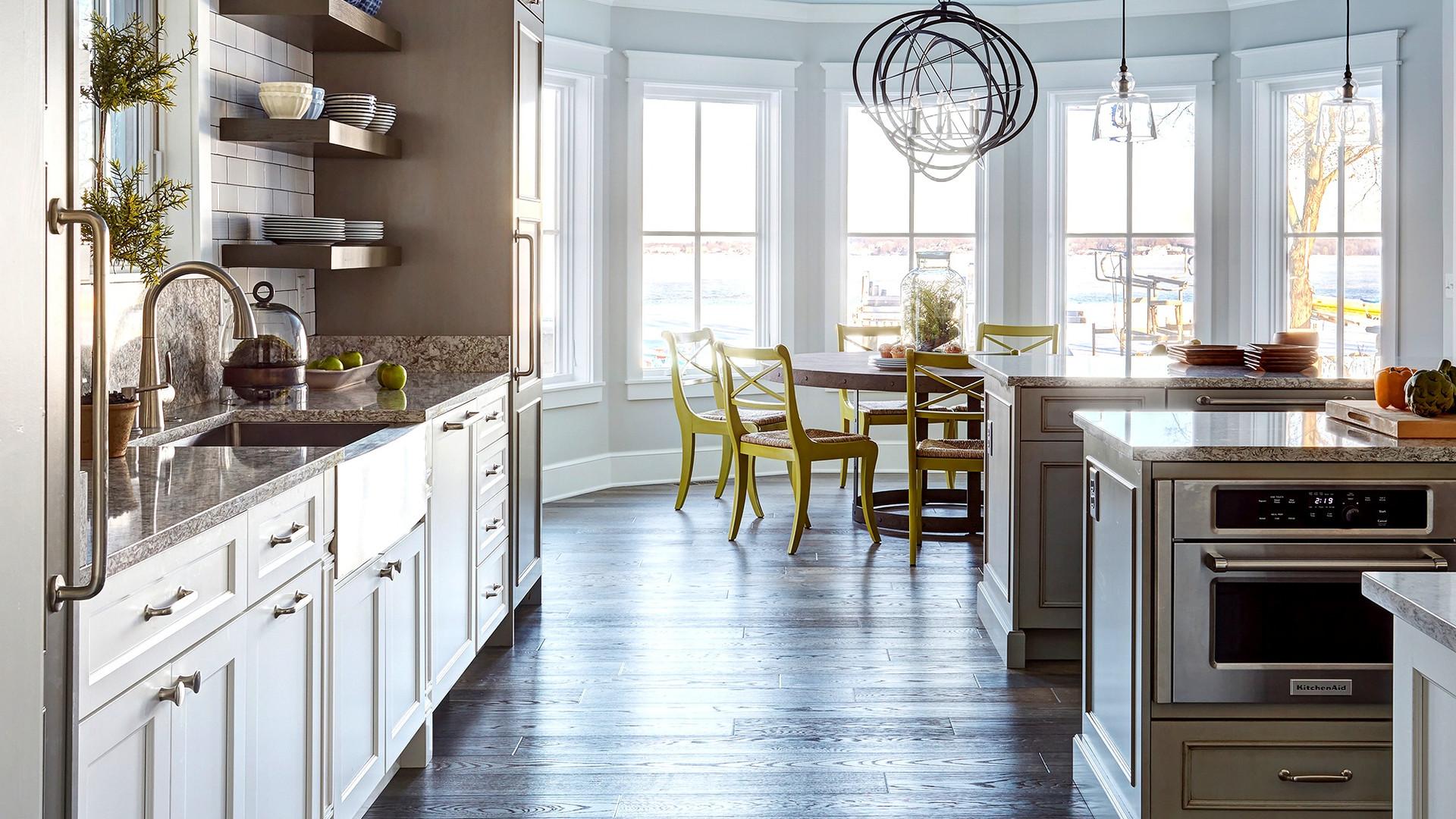 Grey Coastal Kitchen
