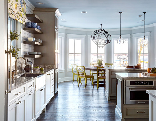 Gray Coastal Kitchen