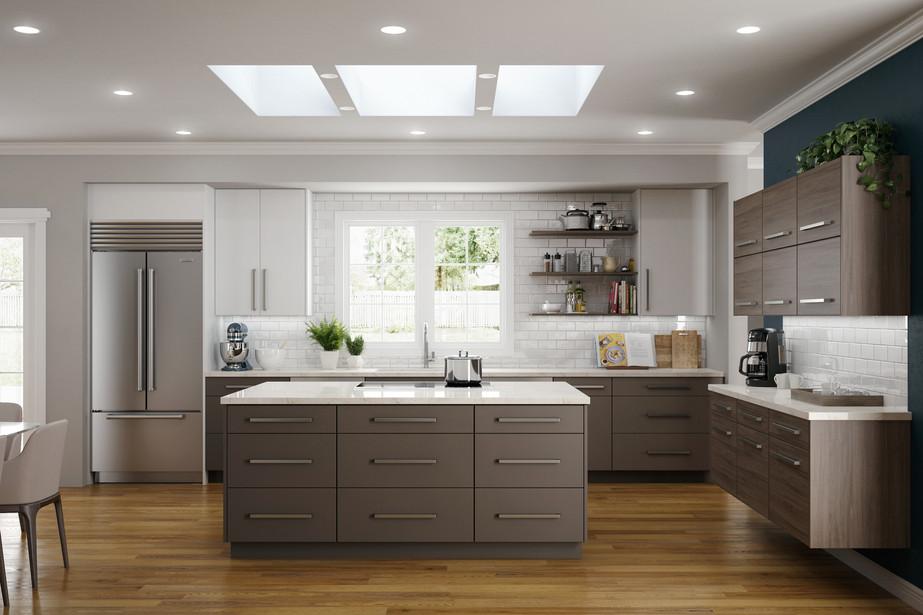 Contemporary Laminate Kitchen Design