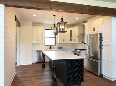 Modern Farmhouse Kitchen. Interior Design by Dawn Crovo.