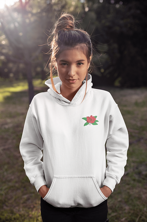 RED ROSE-PULLOVER