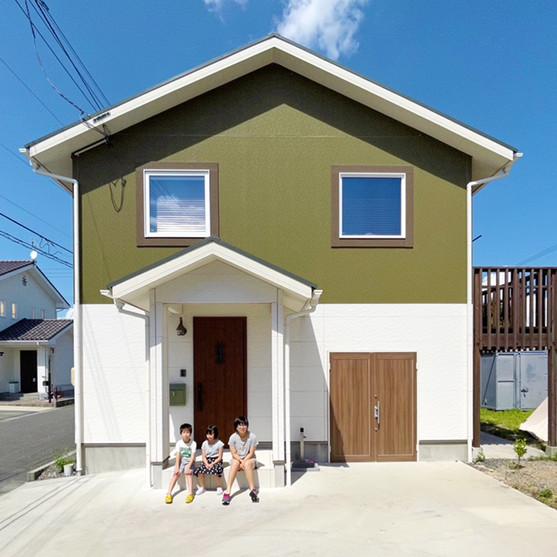 """自分の""""好き""""を詰め込んだ北欧スタイルの家。家と趣味が家族をつなげる。"""