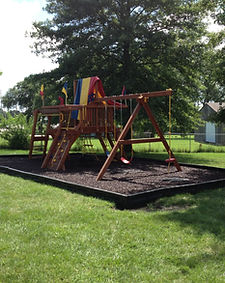 Playground - After rubber mulch install