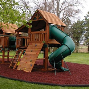 Playground - Residential (Rubber Mulch -