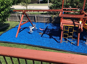 Tyron, Tyler Play Area with Blue Nuggets
