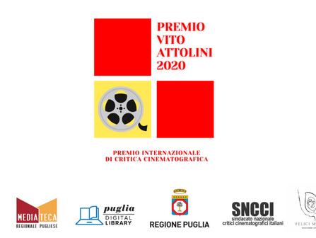 Premio Internazionale di Critica Cinematografica Vito Attolini 2020: conclusa la prima fase