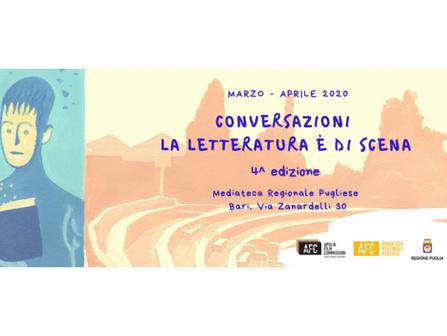 Sospesa la quarta edizione della rassegna Conversazioni – La letteratura è di scena