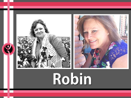 When life looked bleak, gaining 20 pounds... Robin decided it was her time!