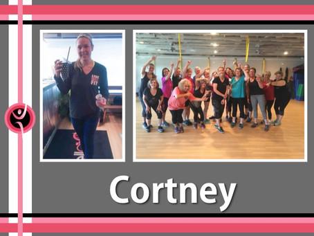 Age 43 Cortney inspires many!